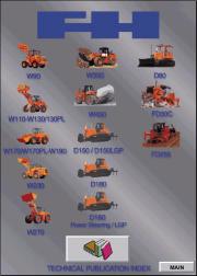 Fiat Hitachi Dozers / Wheel Loaders Service Manual repair