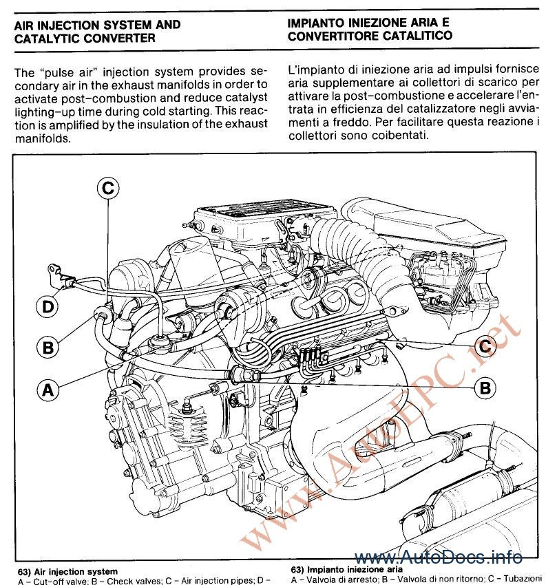 ferrari 365 gtb 4 gt4 2 2 1969 1973 repair manual order