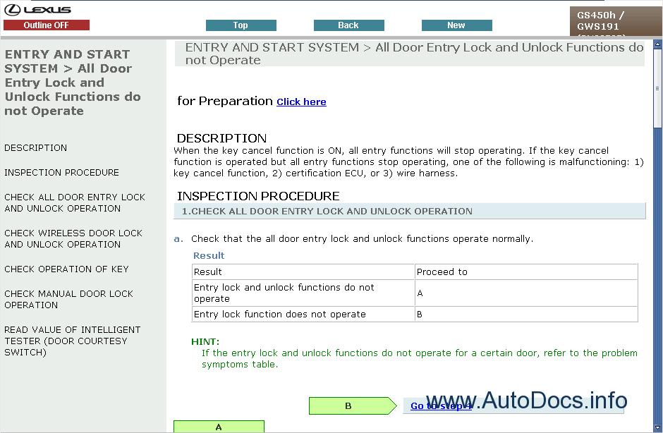Lexus Gs 450h Eng Repair Manual Order  U0026 Download