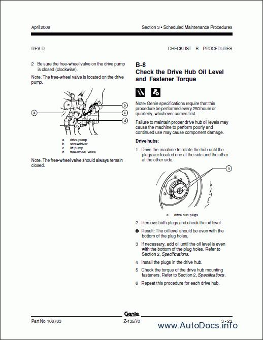 Genie gxl9500 Owners manual