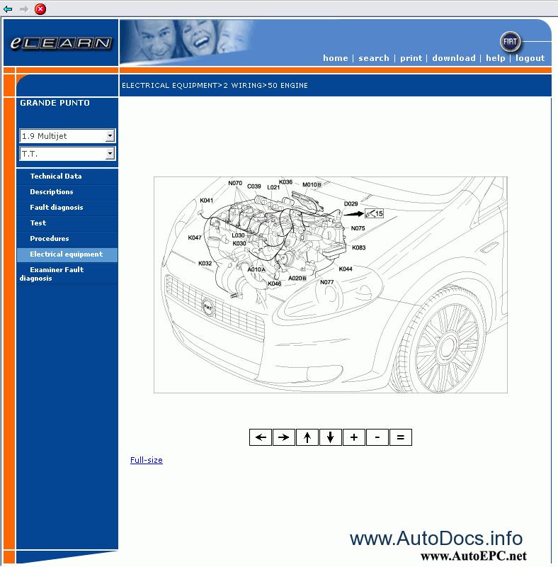 Fiat Grande Punto Service Manual Repair Manual Order  U0026 Download