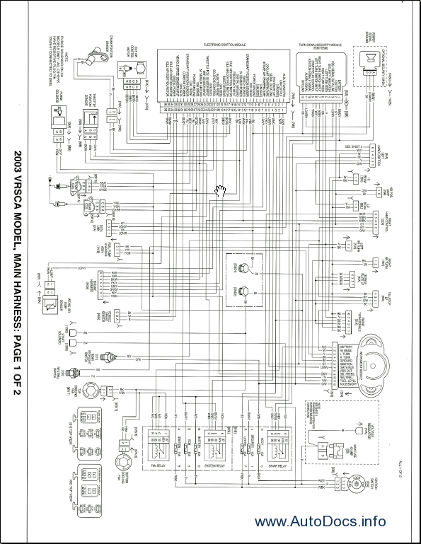 Night Train Harley Wiring Diagram. . Wiring Diagram on