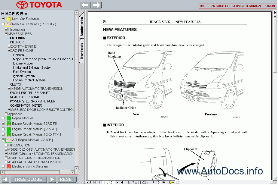 Toyota G52 Repair Manual