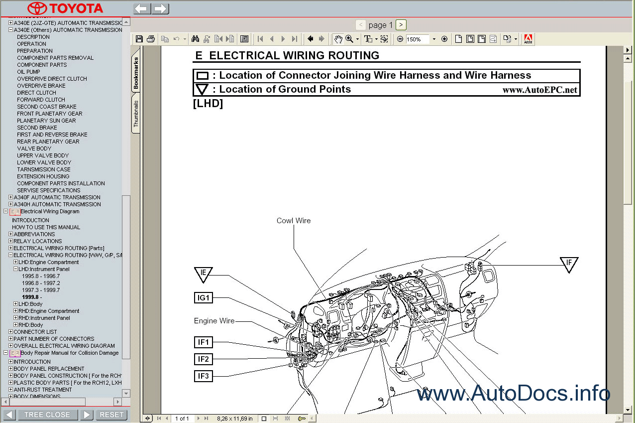 electrical wiring diagrams toyota hiace body repair manual toyota rh convertical co