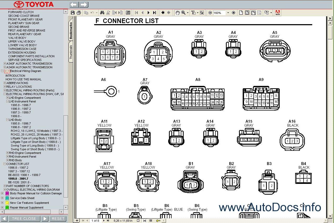 Wiring Diagram Toyota Hiace 2004 : Toyota hiace  service manual repair order
