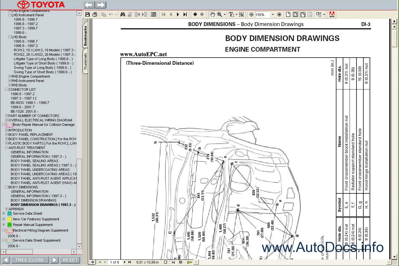 Toyota Hiace D4d Wiring Diagram : Toyota hiace s b v  service manual repair