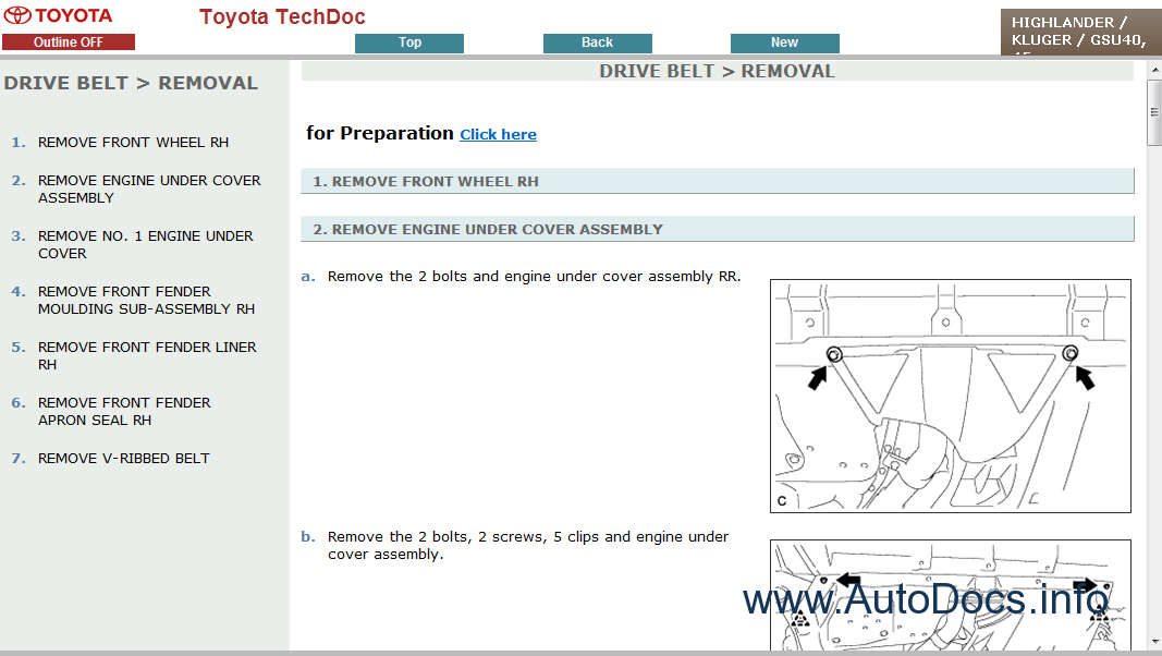 2004 toyota highlander repair manual pdf free download