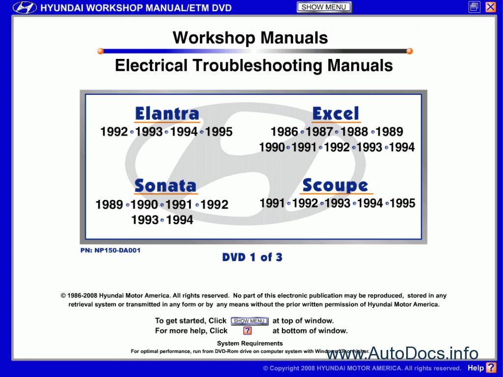 Service manual Auto Repair Manual Free Download 2004