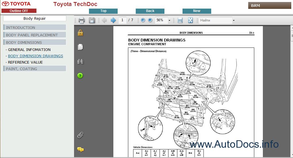 Toyota Iq Service Manual Repair Manual Order  U0026 Download