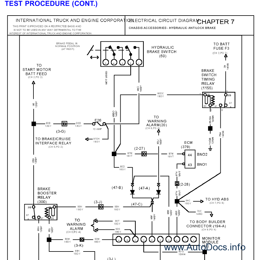 peterbilt wiring diagram 1983 peterbilt wiring diagram #5