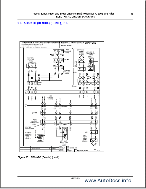 1998 ford truck wiring diagrams ihc truck wiring diagrams international trucks wiring diagram repair manual order ...