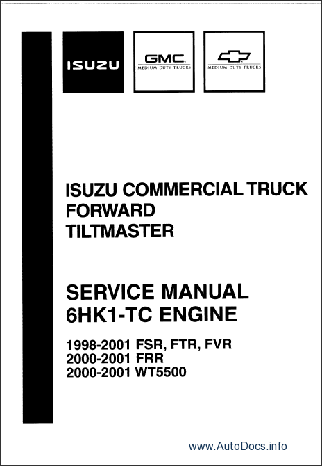 isuzu npr diesel and f series 1996