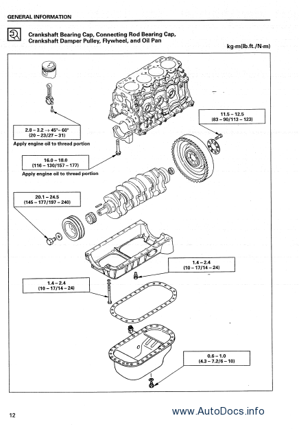 isuzu 4jg2 diesel engine service manual repair manual