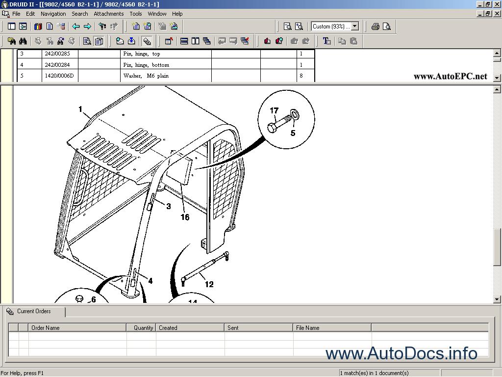 jcb druid ii parts catalog order download. Black Bedroom Furniture Sets. Home Design Ideas