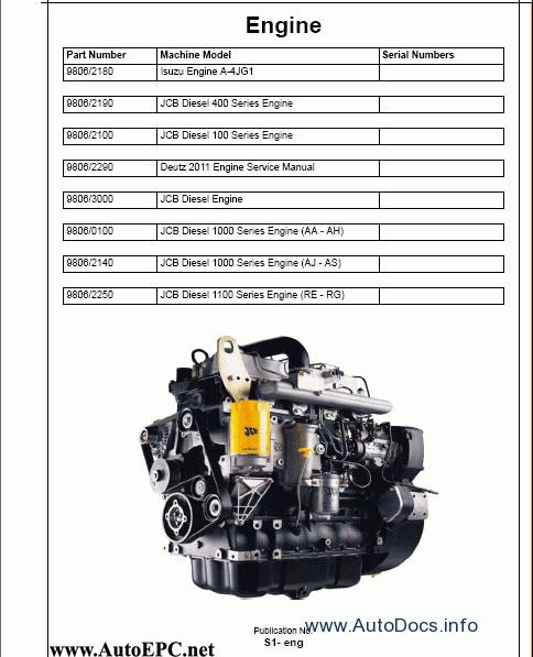 Jcb Service Manuals 2008 Full Set Repair Manual Order  U0026 Download