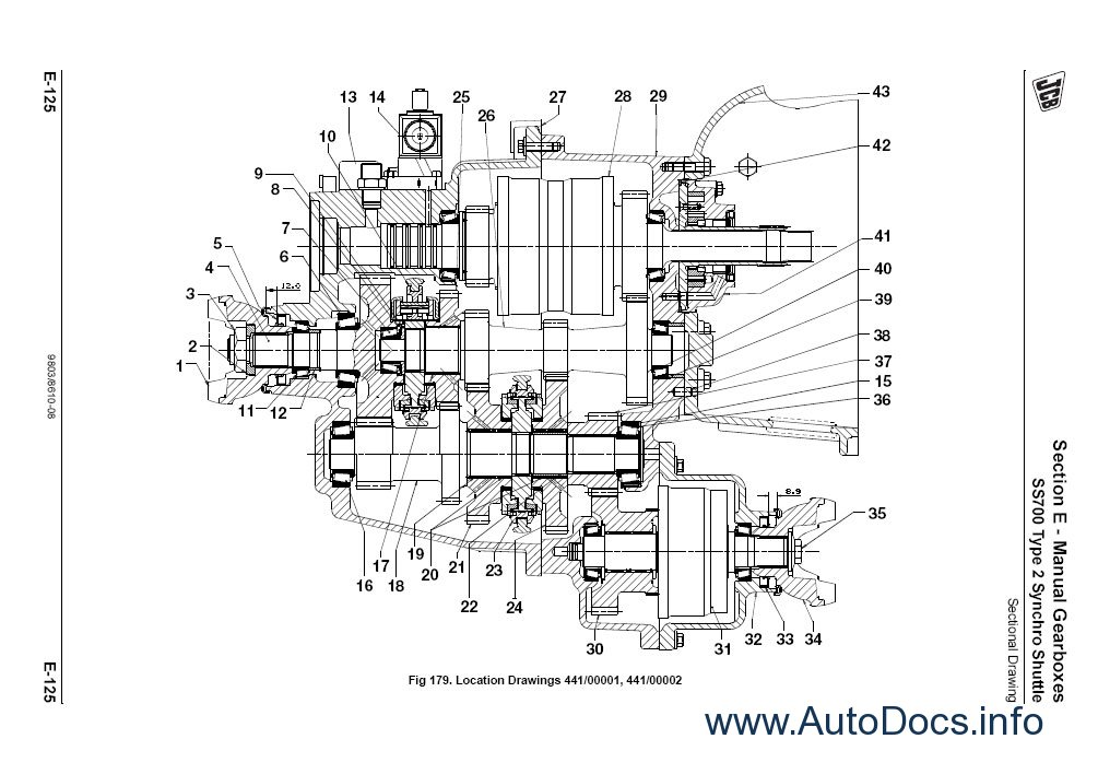 jcb service manuals s2a repair manual order  u0026 download
