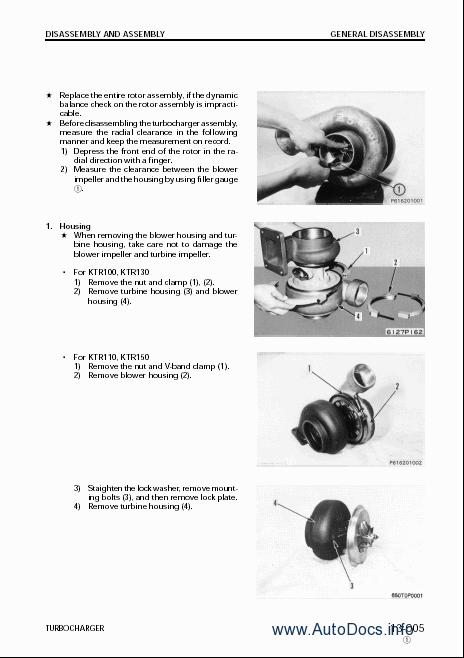 Komatsu Components of Komatsu Engine repair manual Order