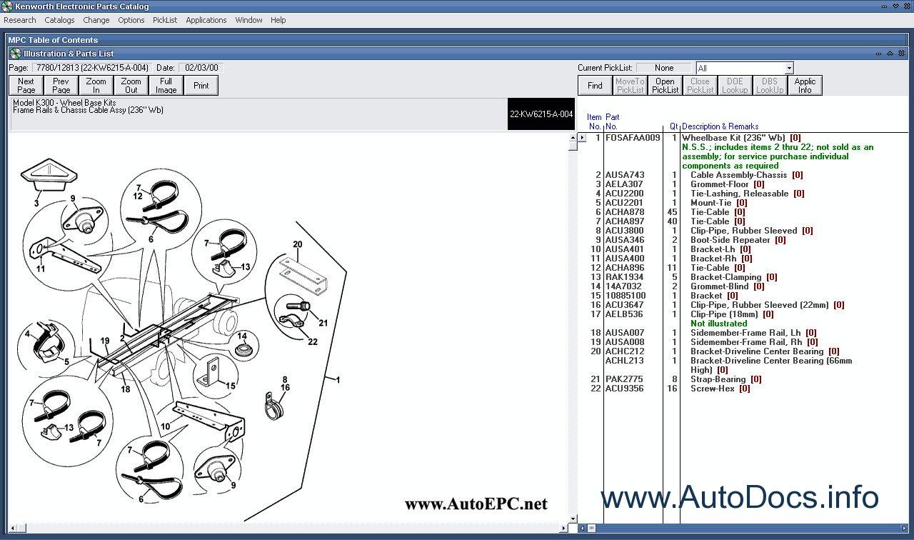 Kenworth Spare Parts Catalog Parts Catalog Order  U0026 Download