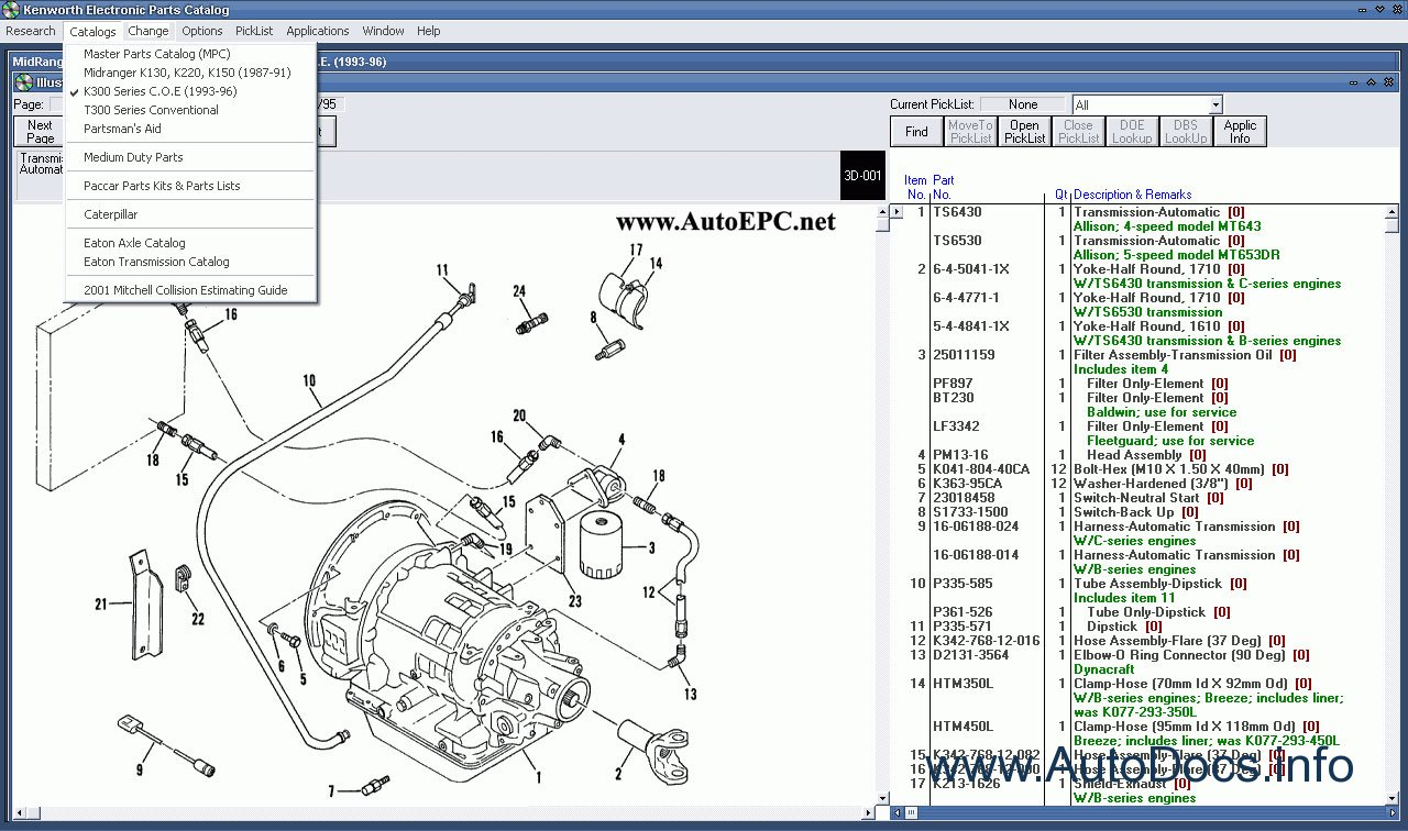 Kenworth Spare Parts Catalog Parts Catalog Order  U0026 Download