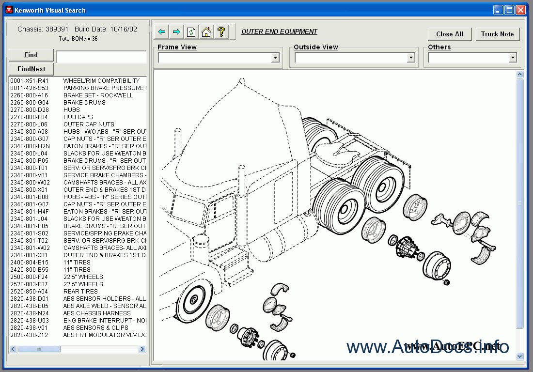Kenworth Spare Parts Catalog parts catalog Order   Download