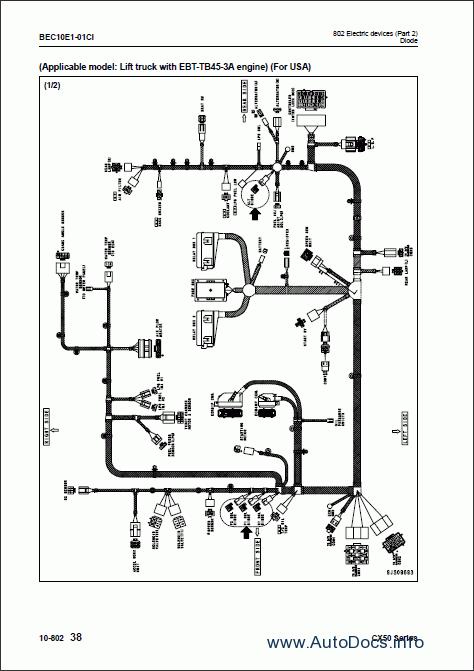 Komatsu Forklift Truck Cx 50 Series Repair Manual Order