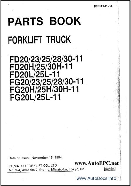 Komatsu 25 Forklift Light Wiring Diagram Komatsu Excavators – Komatsu 25 Forklift Light Wiring Diagram