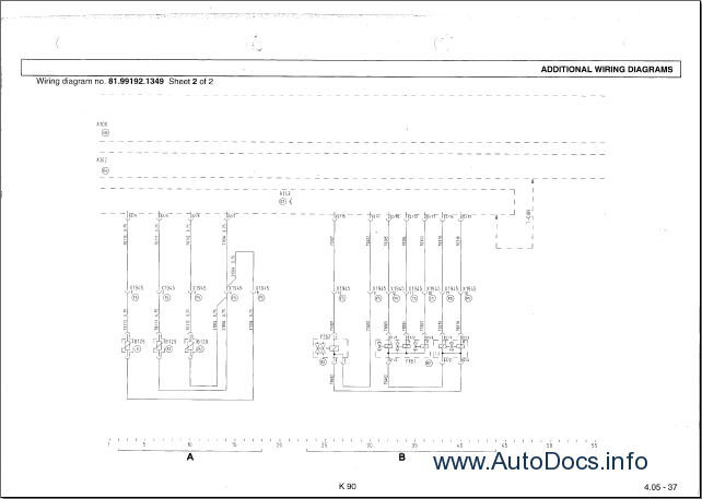 Man Tga Electrical System Diagrams Repair Manual Order