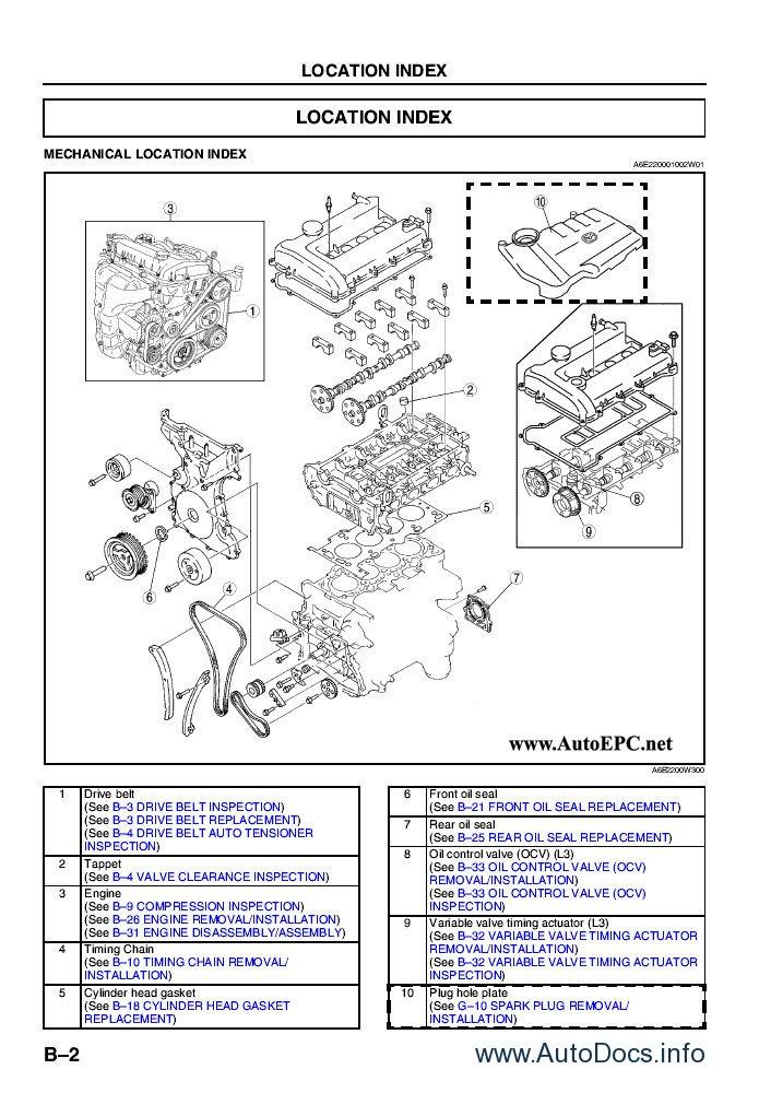 mazda mpv lift repair manual repair manual order