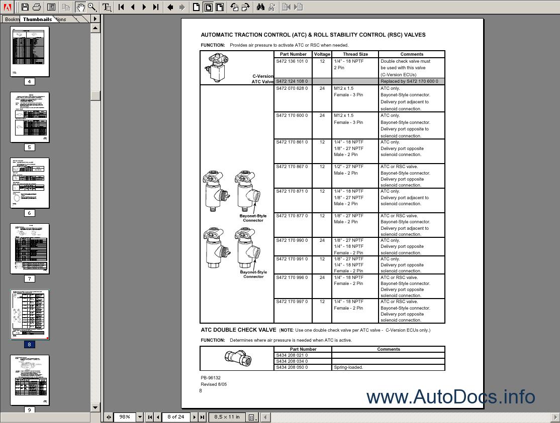meritor technical electronic repair manual order