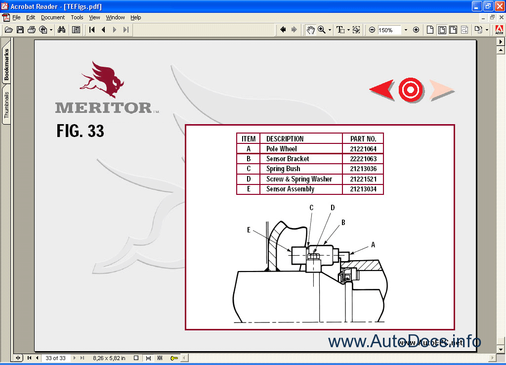 Meritor Rear differential service manual