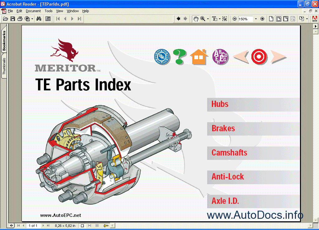 Meritor Axles King : Meritor parts catalogue related keywords