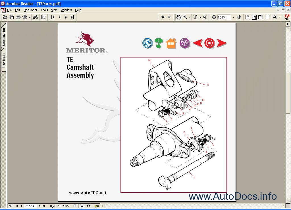 Meritor Rear differential service manual