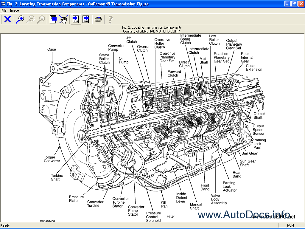 Wiring Schematic Guide : Mitchell ondemand transmission repair manual order