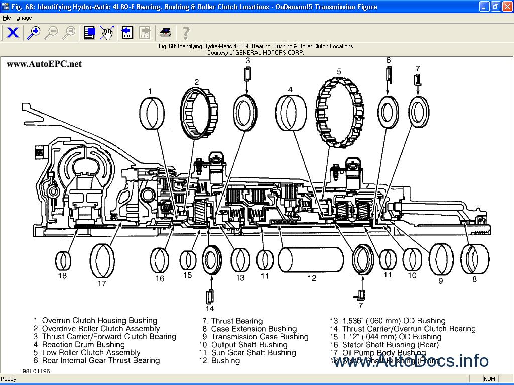 Mitchell Ondemand 5 Transmission 2005 Repair Manual Order