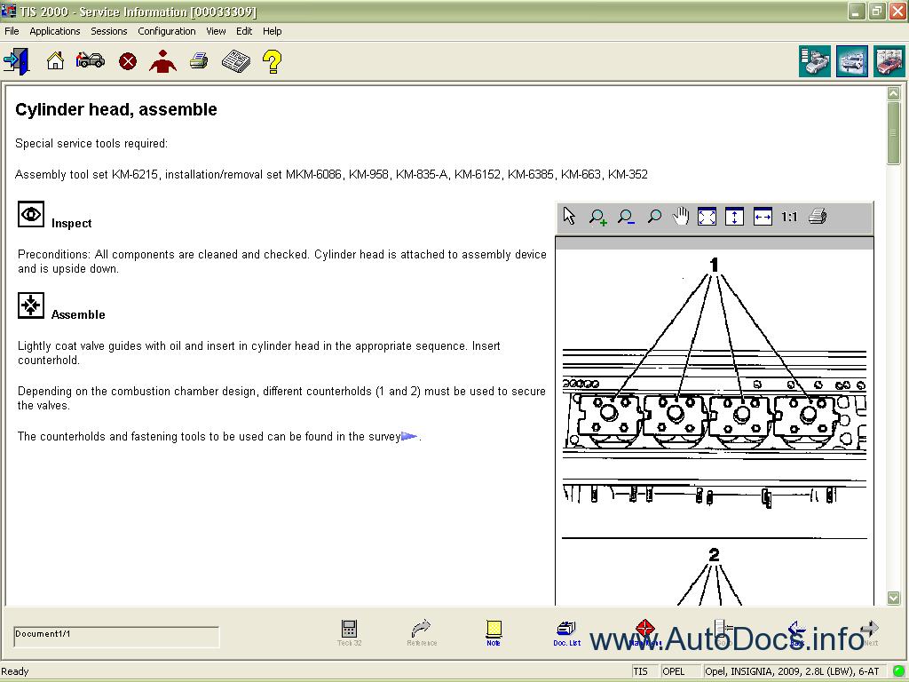 Opel Tis Wiring Diagrams 2011 Repair Manual Order  U0026 Download