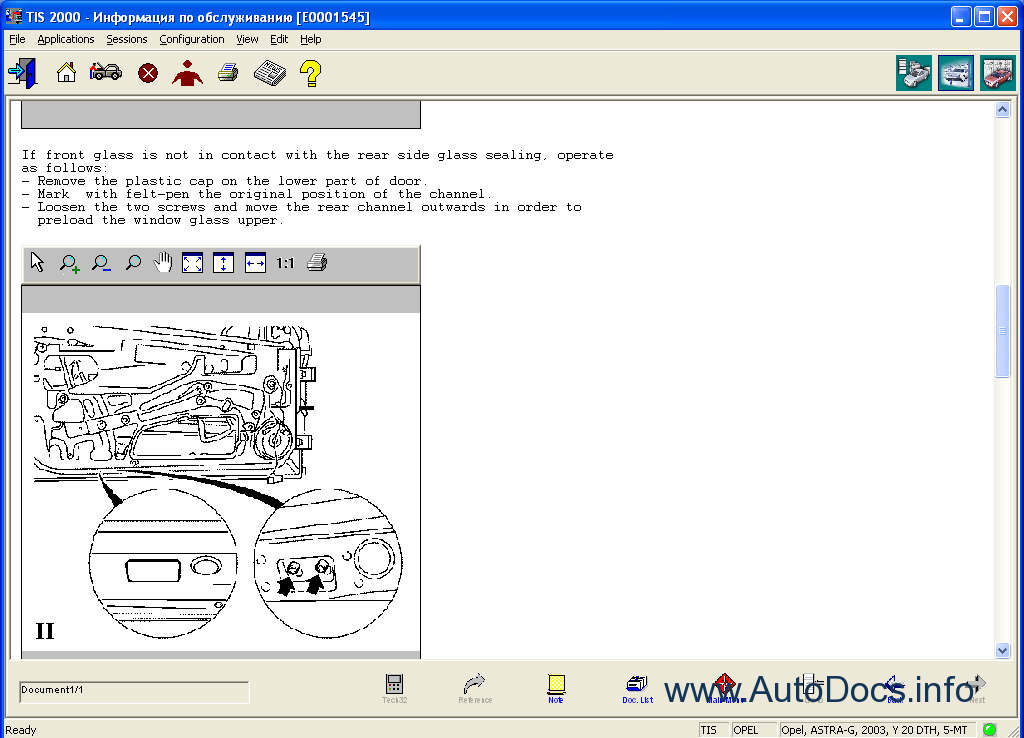 Opel Tis 2011 Eng Repair Manual Order  U0026 Download