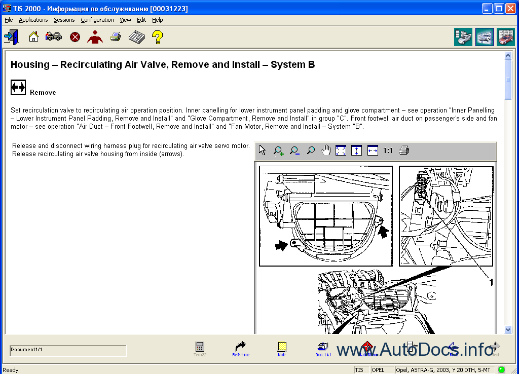 opel tis wiring diagrams repair manual cars repair manuals