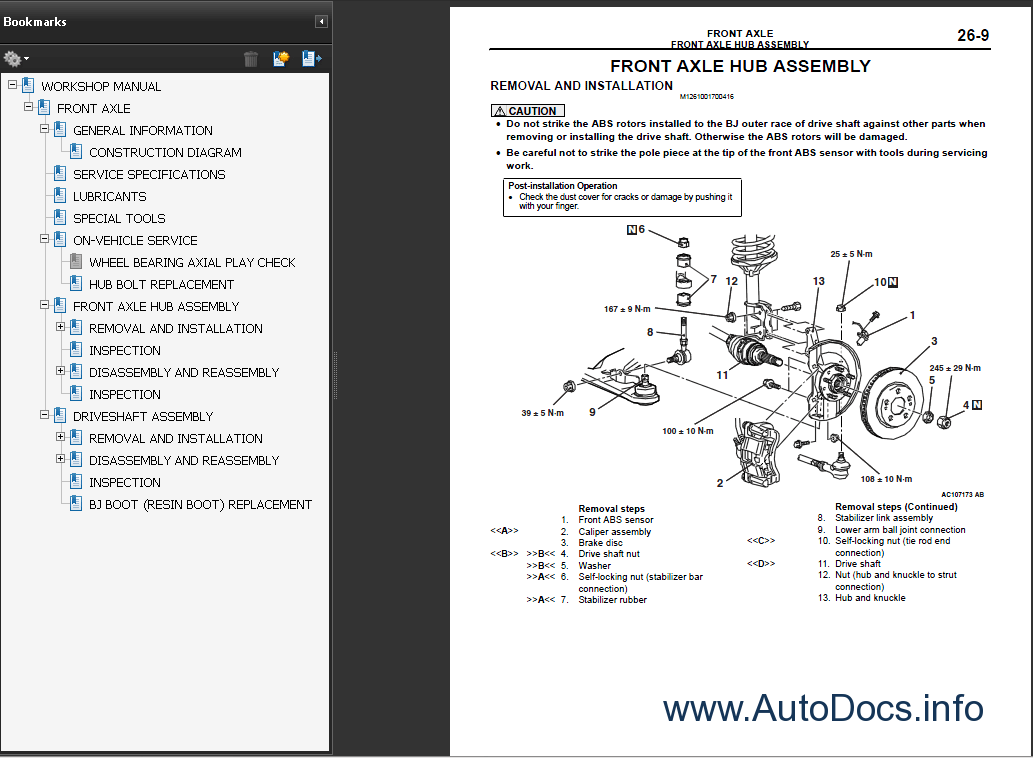 Mitsubishi Outlander 2006 Repair Manual Order  U0026 Download