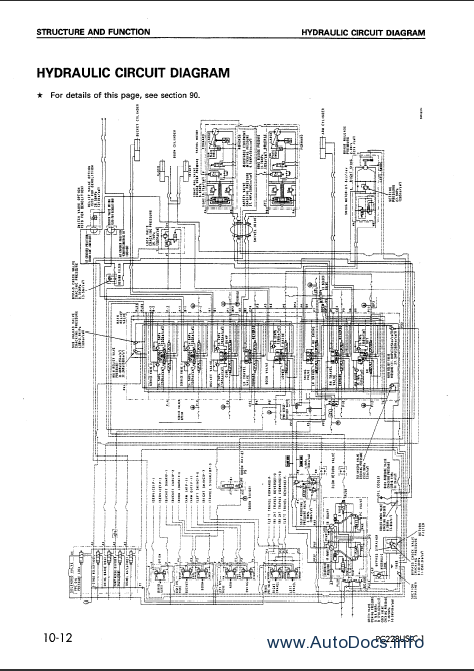 komatsu pc150 6k pc150lc 6k excavator service shop manual