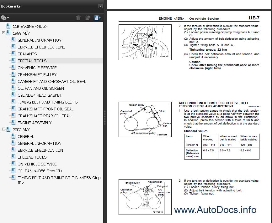 Mitsubishi Shogun Sport Wiring Diagram