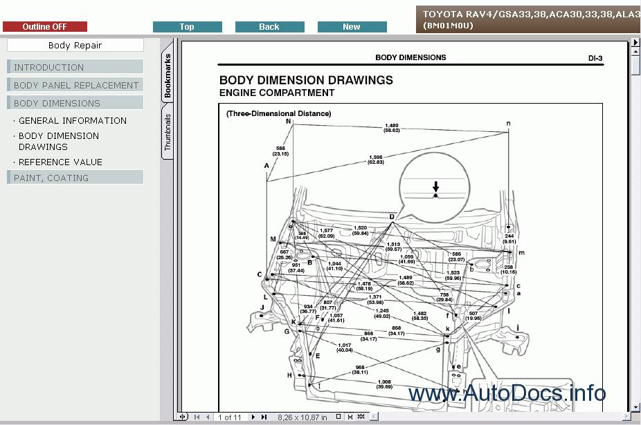 Toyota Rav4 Service Manual Repair Manual Order  U0026 Download
