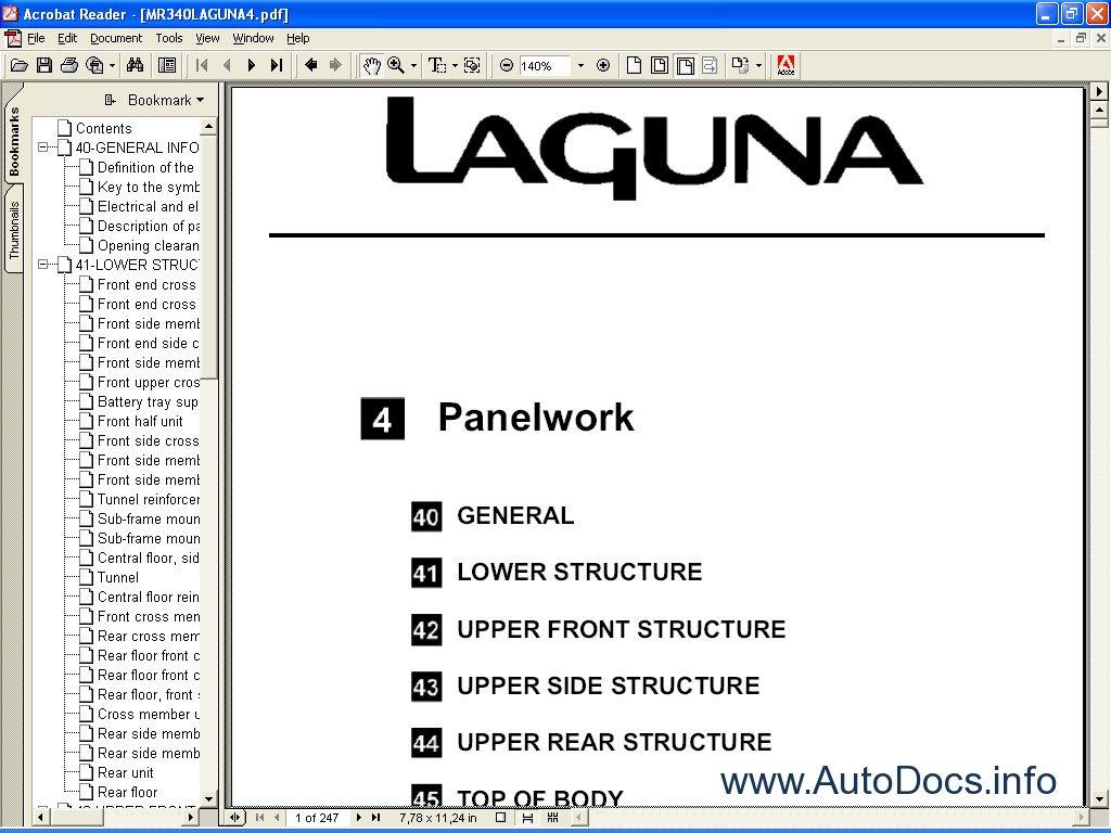 Renault Dialogys Parts And Service Manuals Parts Catalog border=