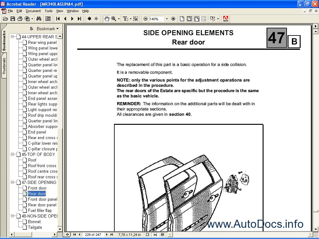 Renault Dialogys Parts And Service Manuals Parts Catalog