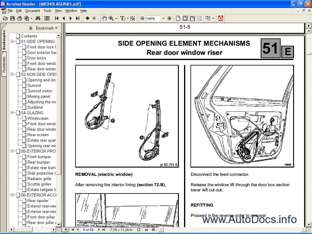 Renault Dialogys Eng Parts Catalog Repair Manual Order