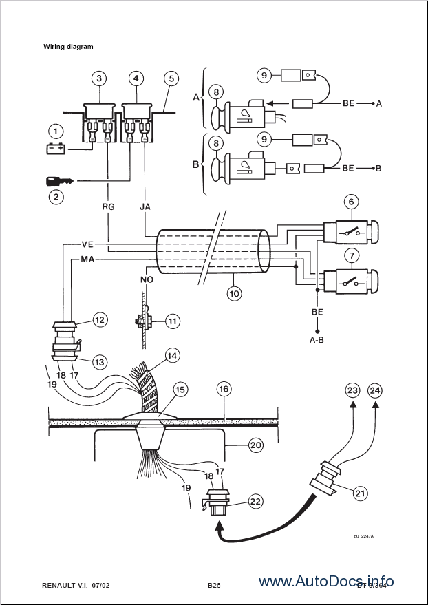 Renault Laguna Engine Diagram
