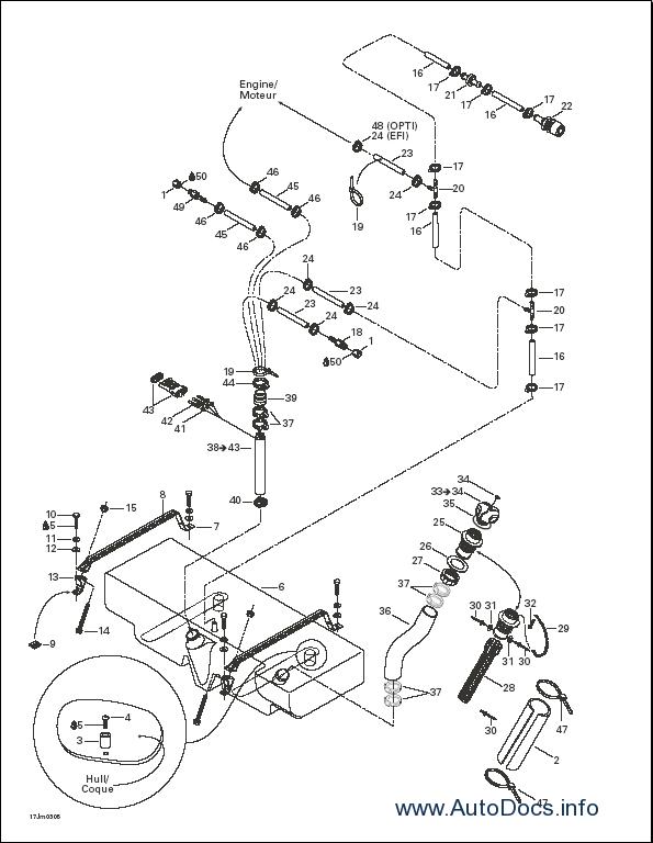 Bombardier Sea Doo Sports 2003 Parts Catalog Repair Manual