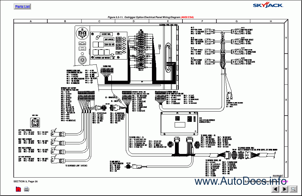 [DIAGRAM_38ZD]  SkyJack Lifts parts catalog repair manual Order & Download | Skyjack Lift Wiring Diagrams |  | Auto Repair Workshop Manuals