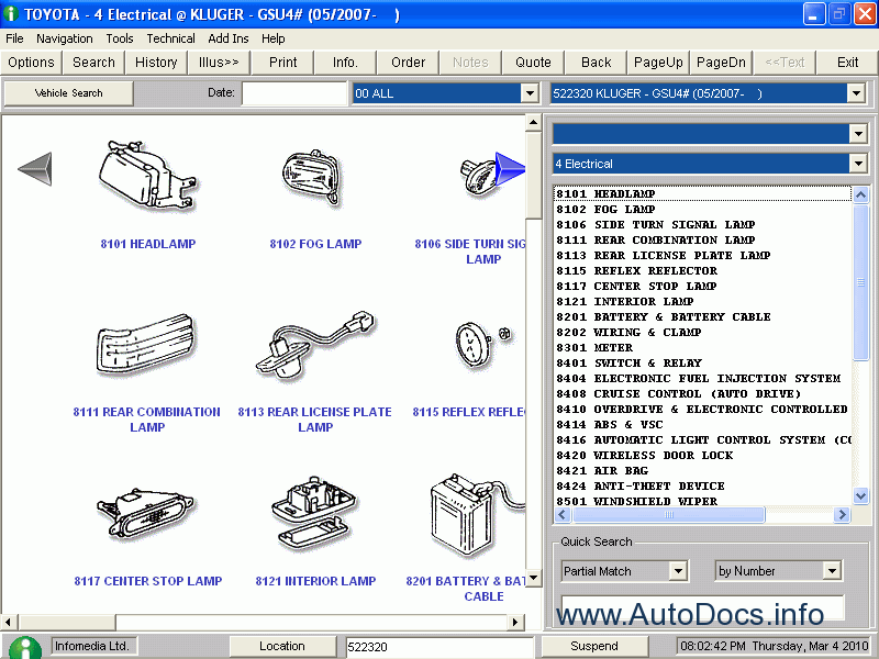 toyota spare parts catalogue pdf