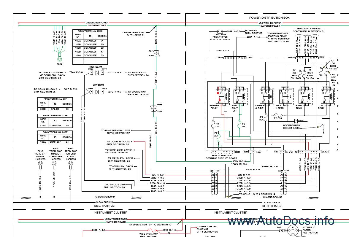 new t8010 t8020 t8030 t8040 tractor service manual repair manual order