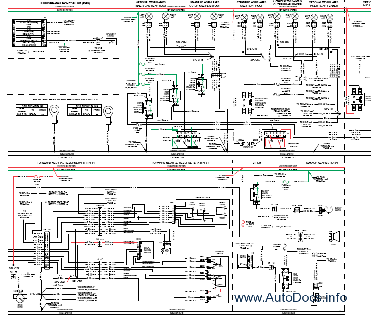 ford tractor diagrams ford backhoe wiring diagram